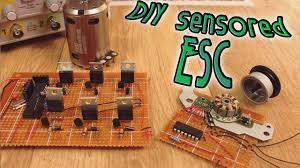DIY <b>Sensored</b> ESC - full tutorial - YouTube