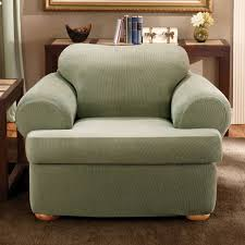sure fit stretch stripe separate seat t cushion chair slipcover com