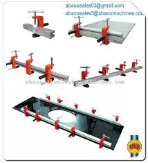lamination clamps abaco stone tool machine granite marble abaco clamp stone clamp material handling equipment