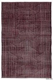 Overdyed Vintage Turkish Rugs K0011403 Dyed Turkish Vintage Rug Kilim Rugs