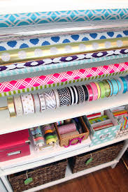 a wrapping cabinet every inch of this gift wrapping cabinet is full of