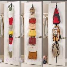 Coat And Bag Rack V10000 100pc Adjustable Over Door Straps Hanger Hat Bag Coat Clothes 48