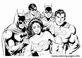 Small Picture wonder woman et ses amis batman superman robin catwoman Coloring