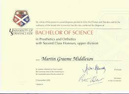 document hub orthotic expert witness strathclyde university degree certificate