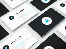 Isometric Business Card Mockup Vol3 Graphberrycom