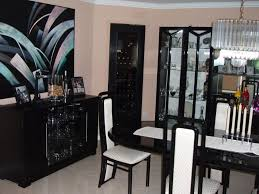 Black laquer furniture Style Duncan Phyfe Furniture Awesome Black Lacquer Furniture For Dining Room With Chairs And Table Completed With Candle Madlons Big Bear Furniture Mysterious Black Lacquer Furniture Showing Its Advanced