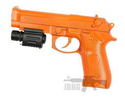 Super Bb Gun With Laser And Torch Light Super 218 Spring Bb Pistol