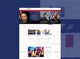Best Free Website Templates Interesting Best Template Psd Free News Portal Images On Designspiration