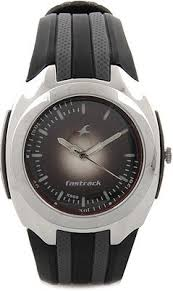 fastrack 9204pp02 black dial analog watch for men in black blue fastrack 9204pp02 black dial analog watch for men in black blue strap