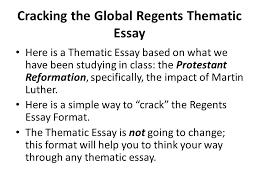 protestant reformation essay protestant reformation essay gxart  cracking the global regents thematic essay here is a thematic cracking the global regents thematic essay