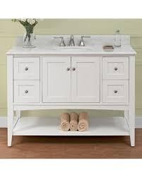open shelf vanity. Contemporary Open 1512VH48 Shaker Americana 48 On Open Shelf Vanity T