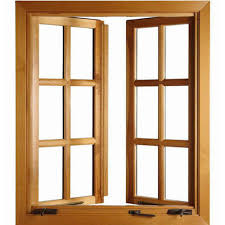wooden window frame. Contemporary Frame Wooden Window Frame On N