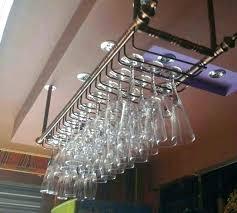 hanging wine glass rack hanging wine glass rack cm mode bar rouge goblet hanger pour rack hanging wine glass rack ikea grundtal stainless steel