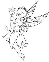 Small Picture Fairy Pick a Flower Coloring Pages Batch Coloring