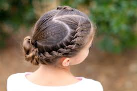 rope twisted heart valentine s day hairstyles