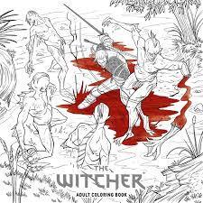 Witcher Adult Coloring Book The Amazon Co Uk Cd Projekt Red