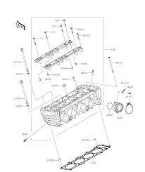 2016 kawasaki z800 abs cylinder head parts best oem cylinder head parts diagram for 2016 z800 abs motorcycles