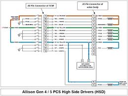 allison transmission gen 4 5 connector pin outs bustekhub allison transmission shift selector problems allison, allison transmission, b400r, b500r, allison gen 4, allison gen 5