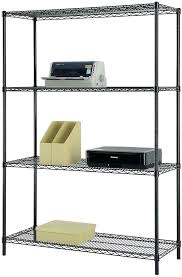 4 tier wire shelf picture 1 of 3 4 tier chrome wire shelving unit