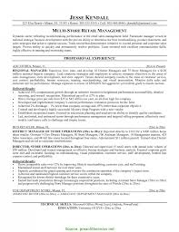Useful Store General Manager Resume Sample New Stock Of Assistant