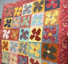 232 best BUGGY BARN´s QUILT images on Pinterest | Heavens, Sewing ... & Spring Fever quilt by Buggy Barn featuring Winging It! Love those wonky  flowers! I made and quilted this. Adamdwight.com