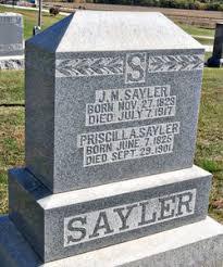 Priscilla Mason Sayler (1825-1901) - Find A Grave Memorial