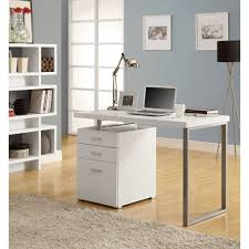 small white office desk. small desk with file drawer white drawers office