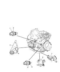 Sensors drivetrain for 2010 chrysler pt cruiser