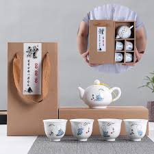 exquisite hand painted ceramic tea set china tea set kung fu tea cup