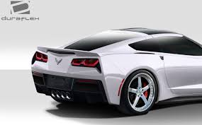 Duraflex C7 Gran Veloce Wide Body Kit 8 Pc For Chevrolet Corvette ...