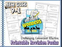 new gcse 9 1 maths revision packs bundle including extension by ambowers2 teaching resources tes