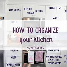 how to organize your kitchen archives bexbernard