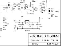 circuit diagram of fm transmitter images fm transmitter circuits 9600 baud packet radio modem design