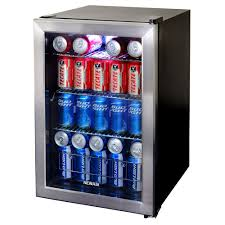 17 in 84 12 oz can stainless steel freestanding beverage cooler