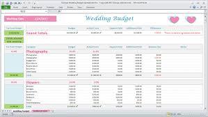 budget sheet excel georges wedding budget spreadsheet pro v2 0