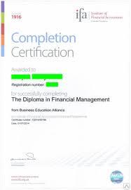 Обучение на диплом Финансовый менеджмент общей программы ifa в  Обучение на диплом Финансовый менеджмент общей программы ifa