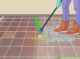 image titled clean slate floors step 1