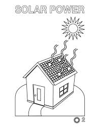 Renewable Energy Coloring Pages