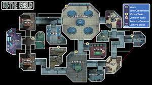 Among Us Skeld Map