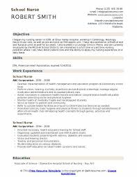 Ob Nurse Resume School Nurse Resume Samples Qwikresume