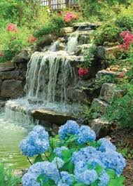 Small Picture Waterfall garden beautiful garden ideas Garden Design