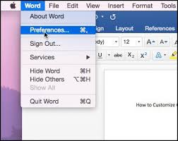 How To Customize Microsoft Office Color Theme On Mac