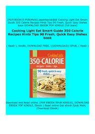 Cooking Light Online Recipes Hardcover Cooking Light Eat Smart Guide 350 Calorie