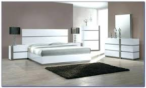 White Lacquer Bedroom Furniture Black Lacquer Bedroom Set Modern ...