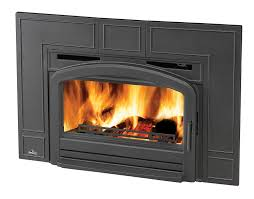 napoleon oakdale epi3 series epi3t 43 natural vent wood burning fireplace insert with up to 55 000 btu s cast iron surround airwash system full refractory