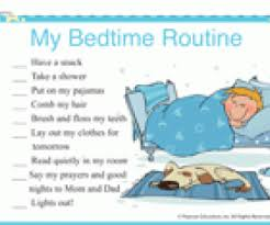 Bedtime Routine Chart Printable Bedtime Routines For Older Kids Familyeducation