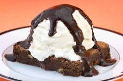 Image result for brownie sundae