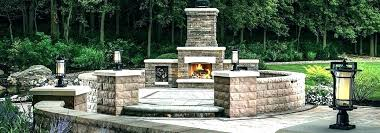 outdoor fireplace kits with pizza oven outdoor fireplace kit with regard to kits pizza oven