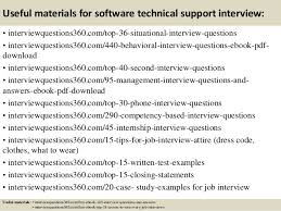 Technical Support Questions Top 10 Software Technical Support Interview Questions And Answers