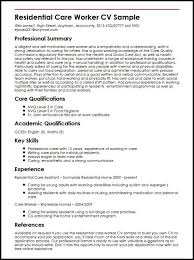Cv For Care Assistant Care Assistant Cv Template Job Description Cv Example Resume Aged